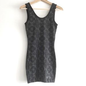 Harlow Tank Top Style Fitted Dress XS